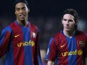 Bóng đá - Điều Ronaldinho tiếc nhất: Chơi cùng Messi quá ít