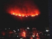 Tin tức trong ngày - Cháy rừng dữ dội ngay giữa TP. Hạ Long