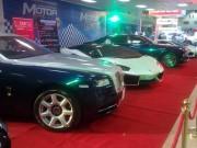 Ô tô - Đại gia Lào mang dàn siêu xe khuấy động triển lãm