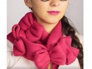 Thời trang - Tự chế khăn trái tim cực xinh yêu đón mùa thu về