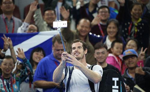 """China Open ngày 3: Khi Murray thích """"selfie"""""""