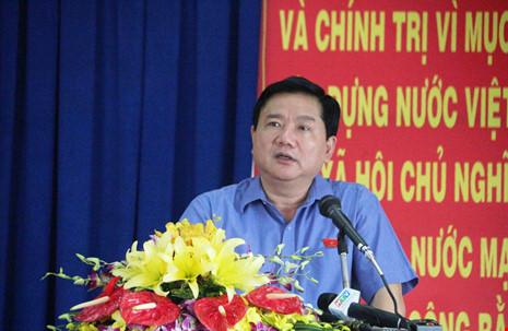 Bí thư Thăng thông tin về vụ ông Trịnh Xuân Thanh
