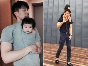 """Bạn trẻ - Cuộc sống - Ông bố cao gần 2m """"gây sốt"""" khi chụp ảnh cùng con gái"""