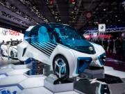 Tin tức ô tô - Cận cảnh xe điện Toyota FCV Plus với thân trong suốt