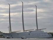 Thế giới - Xem siêu du thuyền 10 nghìn tỉ lớn nhất thế giới chạy thử