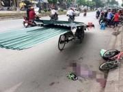 Tin tức trong ngày - Vụ bé trai bị tôn cứa cổ: Xúc động chuyện xin giảm tội cho lái xe xích lô