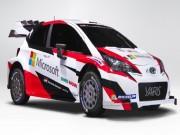 Toyota Yaris WRC 2017 tái suất sau 18 năm vắng bóng