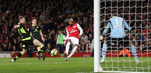 """Thương hiệu dứt điểm đỉnh nhất: Henry, Messi, Rô """"béo"""""""