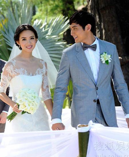 Những mẫu váy cưới đẹp như mơ của sao Hoa ngữ - 19