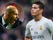"""Bóng đá - James theo Ronaldo """"bật"""" Zidane, Real đại loạn"""