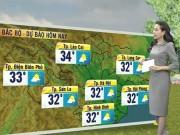 Tin tức trong ngày - Dự báo thời tiết VTV 6/10: Nam Bộ có mưa dông rải rác