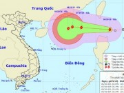 Tin tức trong ngày - Áp thấp nhiệt đới mạnh lên thành bão, áp sát Biển Đông