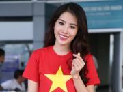 Thời trang - Nam Em mặc giản dị, tự tin lên đường dự thi Miss Earth