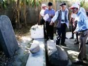Tin tức trong ngày - Khai quật thăm dò dấu vết mộ vua Quang Trung
