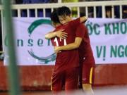 Bóng đá - Việt Nam thắng Triều Tiên: Cầu thủ xúc động tri ân khán giả