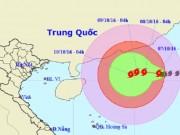 Tin tức trong ngày - Bão số 6 áp sát quần đảo Hoàng Sa