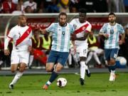 Bóng đá - Peru - Argentina: Mãn nhãn màn rượt đuổi