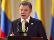 Giải Nobel Hòa bình 2016 thuộc về Tổng thống Colombia