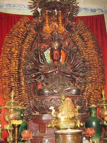Tìm thấy tượng Phật nghìn mắt nghìn tay bị mất trộm