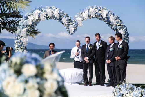 Choáng ngợp lễ cưới xa hoa của cô gái Ninh Bình - 7