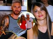"""Bóng đá - Messi và bạn gái ngầm ví mình là """"Vua và Hoàng hậu"""""""