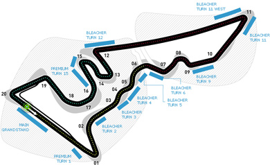 Lịch thi đấu F1: United States GP 2017 - 1
