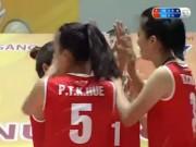 """Thể thao - Chân dài bóng chuyền Việt Nam """"phiêu"""", vùi dập Giang Tô"""
