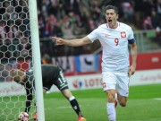Lập hattrick, Lewandowski  sánh ngang  Ronaldo