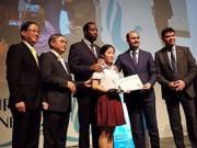 Giáo dục - du học - Nữ sinh Hải Dương đọc bức thư hay nhất thế giới trước đại diện 190 nước