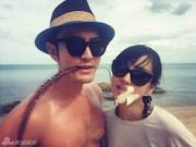 Huỳnh Hiểu Minh khoe ảnh kỷ niệm 1 năm ngày cưới