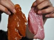 Thị trường - Tiêu dùng - Công an điều tra vụ thịt bò giả làm từ thịt lợn ở Hà Nội