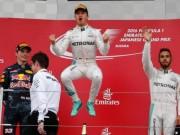 """Thể thao - BXH F1 - Japanese GP: Rosberg """"Thiên đường không xa"""""""