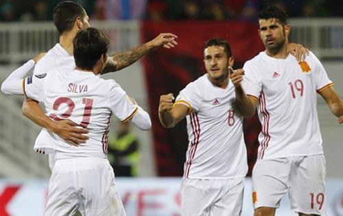Albania – Tây Ban Nha: Niềm tin đúng chỗ