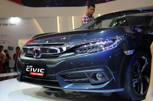 Honda Civic 2016 chính thức ra mắt tại Việt Nam