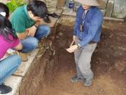 Tin tức trong ngày - Phát hiện nền đất lạ ở khu vực khảo cổ tìm mộ Quang Trung
