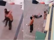 An ninh Xã hội - Nhậu say, chồng vác dao chém vợ giữa phố