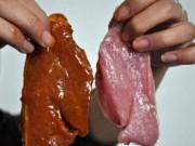 Thị trường - Tiêu dùng - Vụ hô biến thịt lợn thành thịt bò: Làm sao để phân biệt thật/giả?