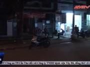 Video An ninh - Đang ngồi uống quán cà phê, nam thanh niên bị đâm gục