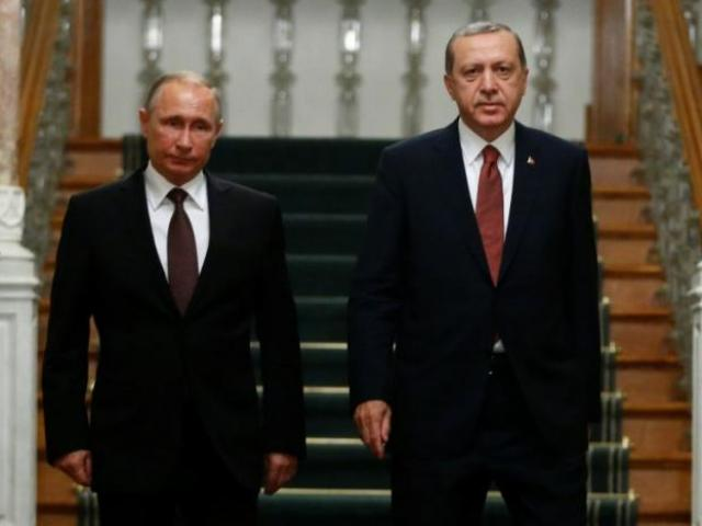 Nga-Thổ Nhĩ Kỳ xây dựng đường dẫn khí dưới biển