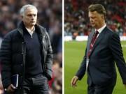 """Bóng đá - MU 4 đại chiến/10 ngày: Mourinho sợ """"dớp"""" Van Gaal"""