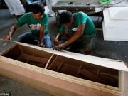 Thế giới - Tội phạm ma túy Philippines đóng quan tài để thoát án tử