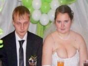 Tranh vui - Người Nga chụp ảnh cưới lại ra ảnh...cười