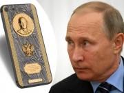 """Thời trang Hi-tech - Putin được tặng iPhone 7 siêu """"độc"""" giá 82 triệu đồng"""