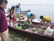 Tin tức trong ngày - Cá chết Hồ Tây: Nhà máy 1.000 tỉ phải 'xin' nước thải