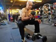 Bạn trẻ - Cuộc sống - TQ: Cụ ông 94 tuổi vẫn chăm tập gym mỗi ngày