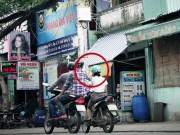 An ninh Xã hội - Một phụ nữ bị cướp đạp ngã, dí dao vào cổ trên phố SG