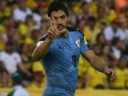 Bóng đá - Suarez cân bằng kỉ lục của Crespo ở vòng loại World Cup