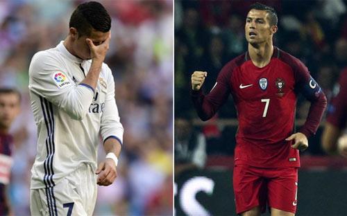 """Tưng bừng ở tuyển, Ronaldo bị cầu """"hết đạn"""" về Real"""
