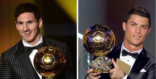 Ronaldo - Messi & cuộc đua kiểu bùng binh