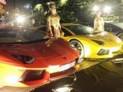 Tư vấn - Dàn Lamborghini trị giá trăm tỷ đồng mừng ngày vui Minh Nhựa